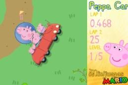 Свинка Пеппа на машине