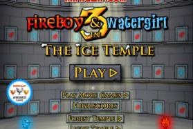 Огонь и Вода 3 в Ледяном Храме