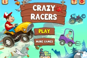 игра сумасшедшие гонщики