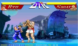 Уличный боец 2: Рю против Сагата
